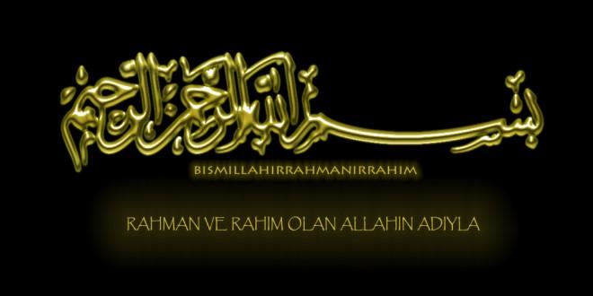 Herkesin Bismillah'ı farklıdır
