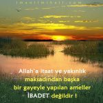 Allah'a ibadet